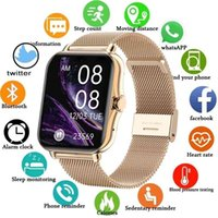 2021 Color Screen Smart watch Ladies Men Full Touch Fitness Tracker Blood Pressure Clock Watch For xiaomi