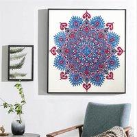 Special Shape 2021 Diamond Painting Mandala Flower Modern Pattern DIY 5D Part Drill Cross Stitch Kit Crystal Art