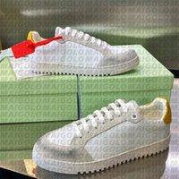 50٪ من أعلى الرجال عارضة أحذية منخفضة مبركن أحذية رياضية القطن المطاط وحيد قطريات بيضاء مصمم الأحذية مع مربع الأصلي الحجم 38-46