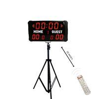 Moderne tragbare elektronische digitale Baseball-Anzeigetafel-LED-Anzeigetafel mit Stand