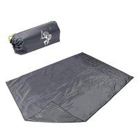 Открытые подушки на пробух Водонепроницаемый Портативный Ультра-Свет 210D Оксфорд Ткань Пляж Палатка Коврик Одеяла для Кемпинга Пикник