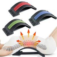 Multi-Nível Ajustável Massager Macção Maca Cintura Próximo Esticamento Fitness Equipamento de Fitness Lombar Spine Spine Relief