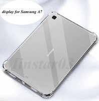 Acrylic Shockproof Tablet Clear Cases Soft Protective TPU Edge for iPad 10.2 2020-2019 Tab-A7 T500 T505 S6-Lite S6 5G S5E T720 T 725 Tab 10.