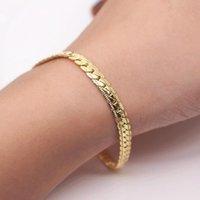 Link, Chain Men Women Hiphop Bracelet 6 8 12 Mm 8 Inches Curb Vintage Jewelry Punk Fan Factory Offer