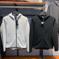 Sport Marke Herren Designer Sweatshirt Track Hoodie für Männer Komfortable atmungsaktive Elastizität Splice Tech Fleece Hoodies M-XXL