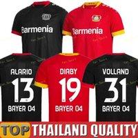 Bayer 04 Leverkusen Jerseys de fútbol Havertz 20 21 Volland Leverkusen Alario 19 20 Camisa de fútbol Bailey Diaby Men + Kit Kit Jersey