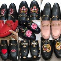 Chaussures Mules Box Casual Fourrure Pantoufles Femmes Chaîne Femmes Mendains Mens Mamans Slipper Princetown Diaposibles avec sandale RMGVO