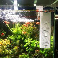 6W / 15W / 23W 수족관 필터 워터 펌프 물고기 탱크 잠수정 공기 산소 내부 펌프 파동 여과 조용한 다기능