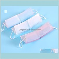 Boxes Bins Housekee Organization Home & Gardenfoldable Disposable Storage Box Face Mask Keeper Holder Mouth Clip Folding Case Folder Clear P