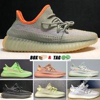 2021 Kanye Zebra West Mens Runner Shoes Enflame 350 V2 Vision Soft Vision Stone Blanco Utilitario Desierto Rata Black Blue Super Moon Reflective Hombres Mujeres Zapatillas al aire libre #EFB