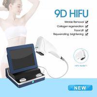 بالموجات فوق الصوتية مكافحة الشيخوخة التجاعيد Ultraformers 9D HIFU الوجه رفع الدهون الموجات فوق الصوتية تشديد الجلد مع 12 خطوط المحمولة hifu آلة