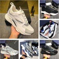 [상자 포함] 고품질 디자이너 신발 B22 운동화 가죽 송아지 가죽 캐주얼 구두 기술 니트 남성과 여성 플랫폼 여러 가지 빛깔의 덩크 트레이너 크기 36-45