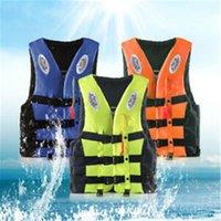 Gilet de vie Bouée Vendre 2PC Adultes Veste Aide Kayak Ski Bouillage de Ski Pêche Bateau d'eau Réglable P901