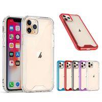 1.5mm Clear Acrílico Estojo para iPhone 11 12 Pro Max XS Max 7 8 Se Samsung S21 S30 Ultra A52 A42 A32 A72 A51 A70 A12 A02S Crystal Armor Case