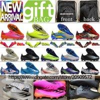 جديد الأصلي رخيصة لكرة القدم المرابط جلدية Hypervenom فانتوم III النخبة FG كرة القدم أحذية منخفضة Hypervenom في الهواء الطلق ACC كرة القدم أحذية الولايات 6،5 حتي 12