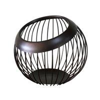 Eisen Haushaltsanzeige Dekorativer Stand Obstkorb Party Drain Geometrische Container Lagerung Desktop Moderne Halter Küche