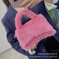Waist Bags Ladies Lambswool Shoulder Bag Flip 2021 Brand Designer Handbag Chain Messenger Shoulderbag For Elegant Women