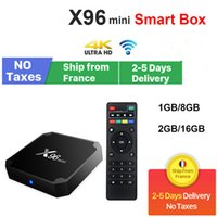 X96 Mini Android 9.0 TV Box 2GB 16 Go Amlogic S905W 4K WIFI Smart Boxes France Stock local