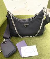 2020 Vendita 3 pezzi Set borse da donna Designer di lusso crossbody genuino in nylon borse borse borse borse da borse a tracolla Borse a tracolla