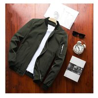 Men's Jackets Mens Spring Autumn Casual Coats Bomber Jacket Slim Fashion Male Outwear Brand Clothing SA585