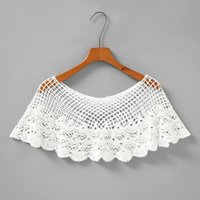 Scarves Women Embroidery Floral Lace Shawl Wrap Shrug Sheer Mesh Tassels Wedding Capelet Stole Vintage Bridal Cover Up Bolero