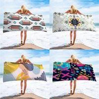 Towel Fashion Cartoon Rainbow Digital Print Series Beach Summer Outdoor Swimming Travel Adult Children Absorbent Bath