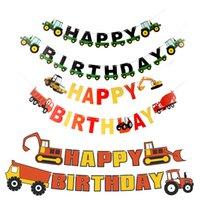 عيد ميلاد سعيد راية مزرعة موضوع القبعات القبعات القبعات العالية جارلاند عيد ميلاد حزب الديكور حزب راية
