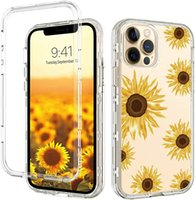 For Iphone 13 Case Print Design Phone Cases Three Layer Heavy Duty Shockproof Protection Cover fit 12 12Pro Max 11 XR