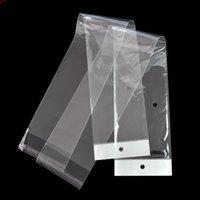 5 Taglie OPP Clear Plastic Package Plack Borsa Autoadesivo TRASPARENTE POLY LUNGO POLO PER IMBALLAGGIO PATCHIELA ESTENSIONE PACCHETTI POUCHHIGH QUATTITÀ