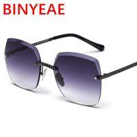 Óculos de sol Binyeae 2021 Verão Designer bonito inspirado mulheres quadradas homens vintage retro desiniminar os óculos de sol