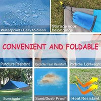 Outdoor Pads 200*140cm Camping Nylon Bag Waterproof And Mat Convenient Polyester Lawn Moisture-proof Picnic Cloth Foldable P V3Q9