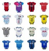 مانشستر 2021 2021 2022 باريس الطفل كيت لكرة القدم الفانيلة مجموعات الاطفال غرينوود utd رونالدو سانشو شو 21 22 ريال مدريد بنين طفل قميص كرة القدم موحدة ميسي 6-18 شهر