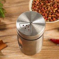 أدوات المطبخ مسواك كوب التوابل الفلفل جرة زجاجة تخزين التوابل موزع الحاويات شاكر DHB8907