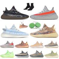 Kanye west 350 Marque Chaussures De Course pour Femmes Hommes Gid Glow Argile Noire Static Chaussures Réfléchissantes Lundmark Zèbre Beluga KANYE Baskets De Sport