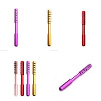Facial Massage Roller Party Favor Double Heads Germanium Stones Face Lift Hands Body Skin Relaxation Slimming Beauty Health Care 806 B3