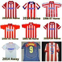Retro 2003 2004 2005 Centenary Atletico Futbol Formaları 1994 1995 1996 1997 10 11 13 14 15 Torres Simeone Kiko Caminero Futbol Futbollar Gömlek Klasik Maillots Madrid