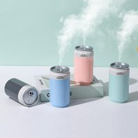 Humidifiers Car Air Freshener Color Light Diffuser Cans Auto Humidifier Mini Purifier Fogger