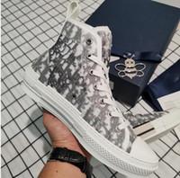 Dior 2020 novo menino menina luxo sapatos de moda feminino designer de couro de salto alto casual executando sapatos ao ar livre homens e mulheres tamanho sapato alto kra