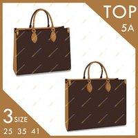 Signore Designer Fashion Top di alta qualità OnThego Handbag M45321 M45320 Colore Corrispondenza Borsa di grande capacità Borsa Tote Bag 2 Dimensione Spedizione gratuita