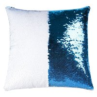 8 colorSequins Mermaid Pillow Case Cushion sublimation magic sequins blank pillow cases hot transfer printing DIY personalized gift DDA6047