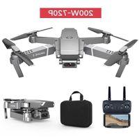 E68 4 K HD Kamera Wifi FPV Mini Acemi Drone Boy Oyuncak, Simülatörler, Track Uçuş, Ayarlanabilir Hız, Yükseklik HOLD, GESTURE Fotoğraf