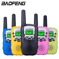 Mini Children'S Walkie Talkie Bf-T3 Long Range Max 5Km Walkie Talkie 2 Way Ham Radio Interphone Child Gift Toy