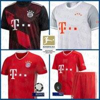 Soccer Jersey Lewandowski Camicia da calcio Nianzou Maillot de Foot Hernandez Thiago maschile KITS KITS PAVARD Uniformi Tolisso Bayern Monaco di Baviera