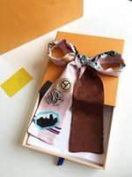 Beautiful Silk HANDBAG Bag scarf Headbands New women letter ...