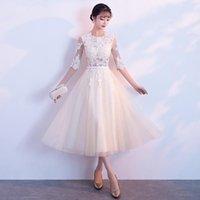 Etnik Giyim Lüks Robe Vestido Parti Elbise Oryantal Kadınlar Zarif Ince Cheongsam Moda Çin Tarzı Gelin Düğün Uzun Qipao