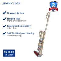 Aspiradoras Jimmy JV71 Limpiador inalámbrico de mano Limpiador inalámbrico en posición vertical Strong Limpet de la alfombra Ciclone Colector de polvo