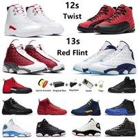 air jordan Jumpman 12s twist 13s zapatillas de baloncesto para hombre Red Flint 13 University Gold Reverse Flu Game hombres Glitter Cap and Gown zapatillas deportivas deportivas