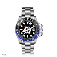 Men's Luxury Automatic Mechanical Watch REQUIN 126710 Silver White Stainless Steel Case 4 Hands Black Dial Calendar Sapphire Waterproof Blue