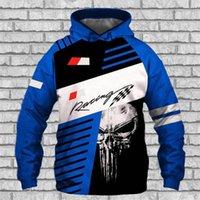 2021 хеджирование с капюшоном и осенью автомобиль логотип 3D цифровой печатный свитер свободный хеджирование спортивные капюшоны куртка для мужчин и женщин