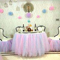 Cadeira de festa de aniversário infantil Cadeira saia atmosfera decoração casamento mesa de banquete ao redor da cadeira